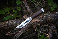 Нож нескладной (рукоять-метал, дерево) для активного отдыха .