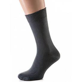 Носки мужские классические из хлопка, осень/зима, серый (41-45)
