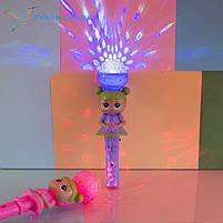 Світиться, іграшковий мікрофон L. O. L, фото 3