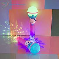 Детский, светящийся микрофон Hello Kitty, фото 2