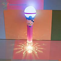 Детский, светящийся микрофон Hello Kitty, фото 3