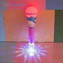 Детский, светящийся микрофон Hello Kitty, фото 4