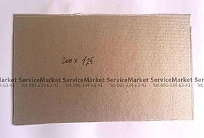 Слюда микроволновой печи СВЧ Пластина слюдяная 200x125
