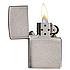 Зажигалка бензиновая Zippo 200 Brushed Chrome (Матовый хром)., фото 4