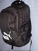 Рюкзак 013423 черный спортивный школьный, фото 1