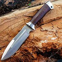 Нож нескладной (рукоять-дерево) Зубр.