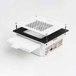 Врезная вытяжка в маникюрный стол Teri Turbo встраиваемая в стол маникюрная вытяжка с HEPA фильтром (б/нж)