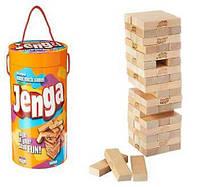 Настольная игра Jenga Дженга деревянная Game Wooden Blocks Stacking Tumbling Tower