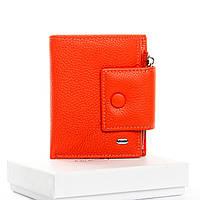Кошелек Classic кожа DR. BOND  WS-5  orange.Женский кожаный кошелек оптом и в розницу в Украине., фото 1