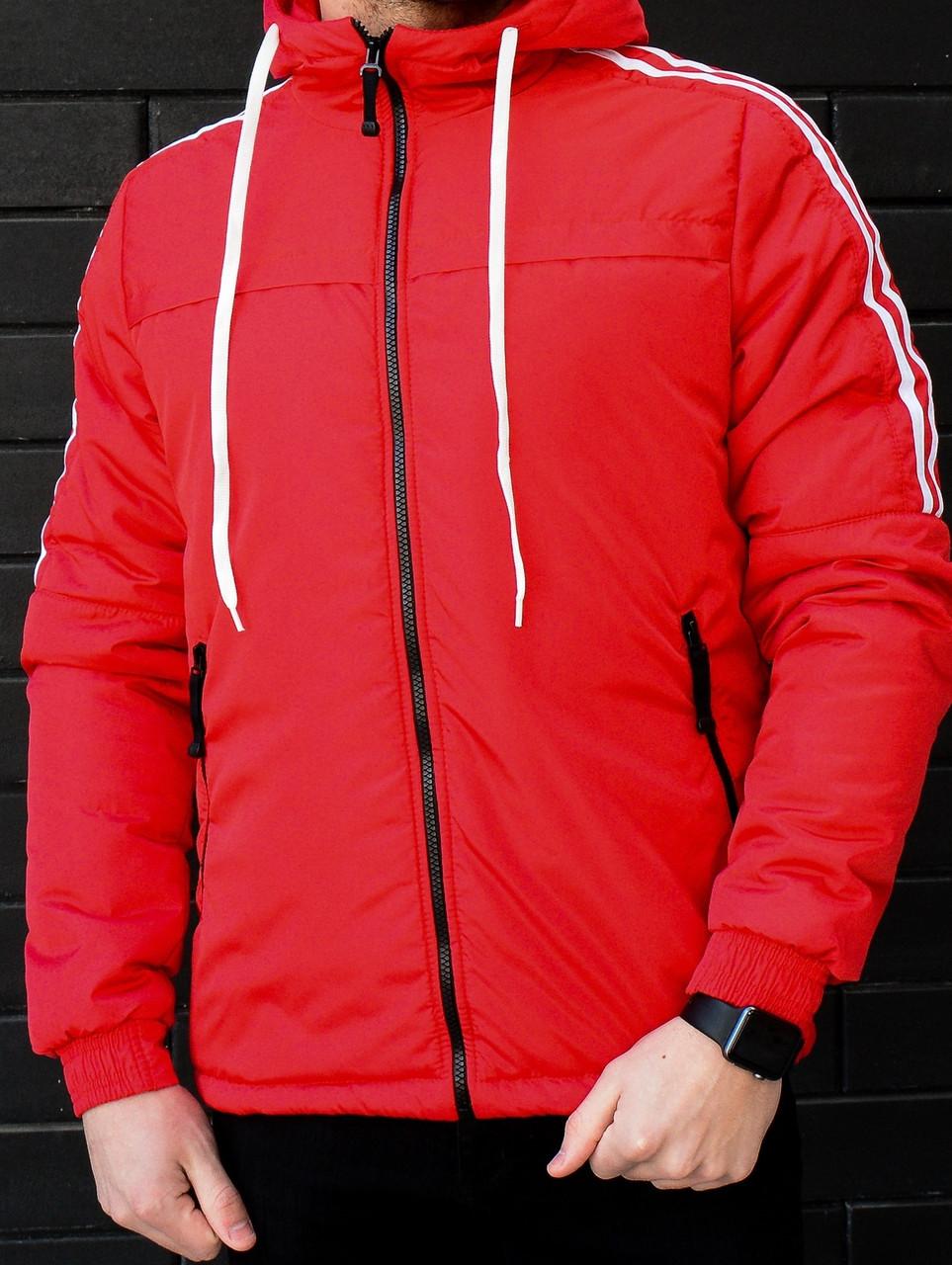 Куртка Дасслер червона