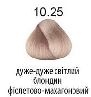 Kaaral 360 Colours.Стойкая крем-краска тон 10.25 очень светлый блондин фиолетово-махагоновый 100 мл, фото 1