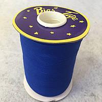 Хлопковаякосая бейка,1,5см -  50%полиэстер (100м), цвет 088 электрик (657-Л-0629)