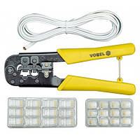 Затискач для мережевих кабелів VOREL 45503