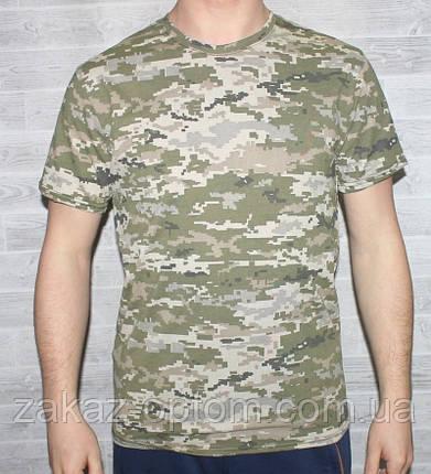 Футболка мужская камуфляж 100%cotton (46-54)-48766, фото 2