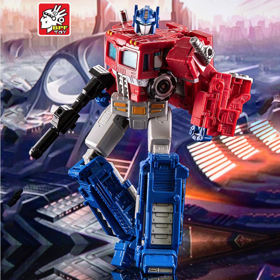 Робот-трансформер Оптимус Прайм, Siege, BPF toy - Transformer, Optimus Prime