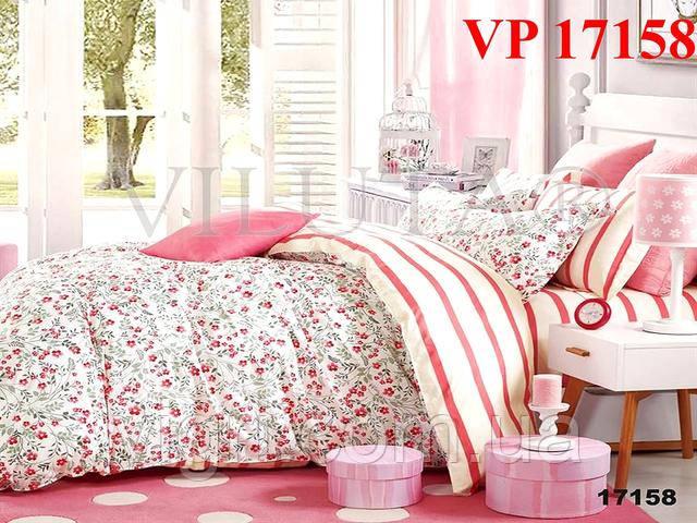Постельное белье, двухспальное, ранфорс Вилюта «VILUTA» VР 17158