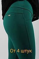 Лосины женские(оптом) 551зеленые
