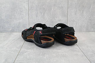 Босоножки Ecco Active E (лето, мужские, натуральная кожа, черный), фото 3