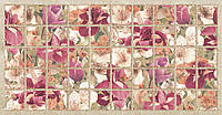 Панель ПВХ Grace Бордовые ирисы (плитка)