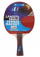 Набор для настольного тенниса Landers 1*: ракетка +чехол