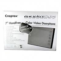 """Відеодомофон з кольоровим екраном 7"""" JS 728 з дзвінком"""