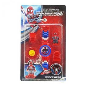 """Детский набор """"Человек паук"""" с часами  sco"""