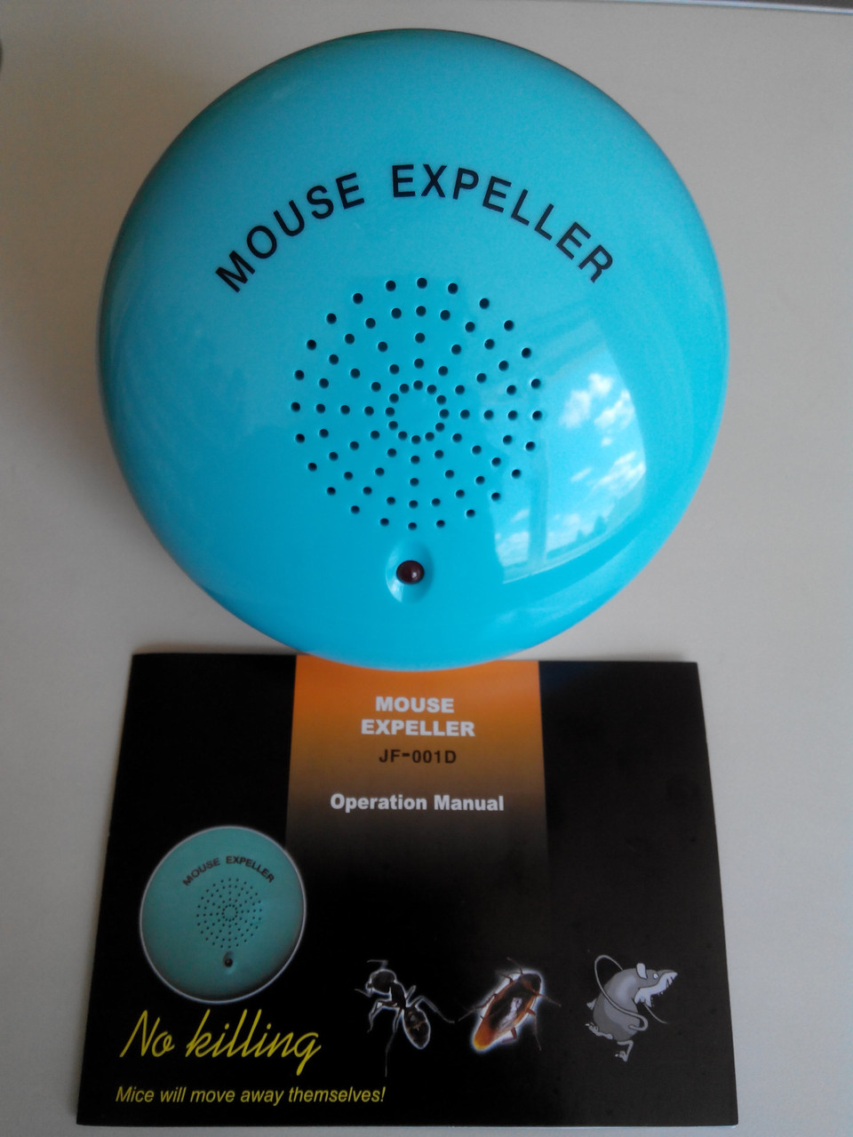Ультразвуковий відлякувач гризунів (Ультразвуковой отпугиватель) Mouse Expeller JF-001D - ТЕКС-МАСТЕР в Черкассах