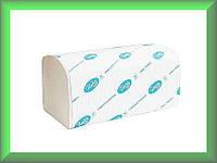 Полотенца бумажные BASIC Р098 Tischa Papier (белая 100% целлюлоза, двухслойные, ящик 20 пачек)