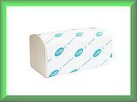 Полотенца бумажные BASIC Р099 Tischa Papier (белая 100% целлюлоза, двухслойные, ящик 20 пачек)