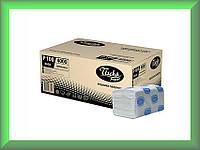 Полотенца бумажные BASIC Р100 Tischa Papier (белая 100% целлюлоза, двухслойные, ящик 20 пачек)