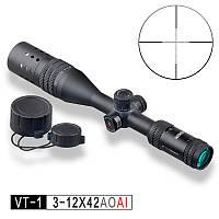 Приціл оптичний VT-1 PRO 3-12x42 AOAI
