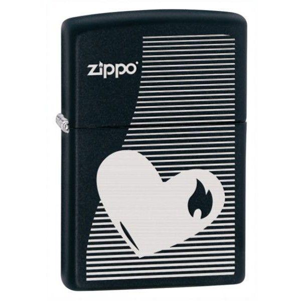 Зажигалка бензиновая Zippo 28549 ZIPPO HEART LINES.