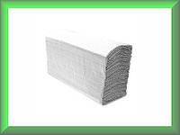 Полотенца бумажные Z-складка BASIC Р410 Tischa Papier (белая целлюлоза, двухслойные, ящик 25 пачек)