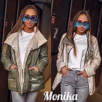 Куртка женская двусторонняя 42-44,46-48