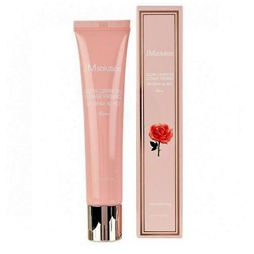 Подтягивающий крем для кожи вокруг глаз с розой JMsolution Glow Luminous Flower Firming Eye Cream All