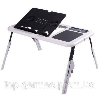 Портативный столик для ноутбука с кулерами E-Table