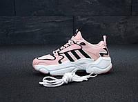 Кроссовки женские Adidas Consortium x Naked Magmur Runner 31423 розовые, фото 1