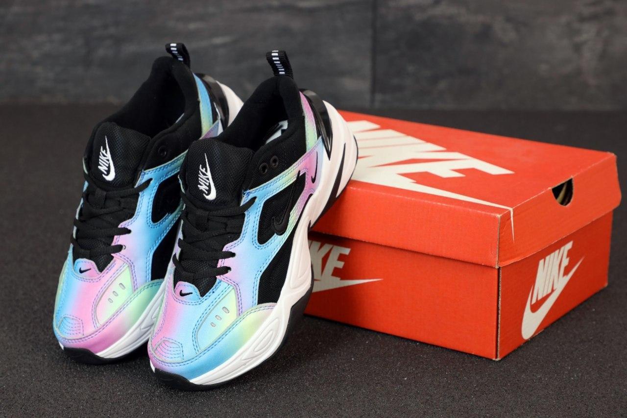 Женские кроссовки Nike M2K Tekno 31460 разноцветные
