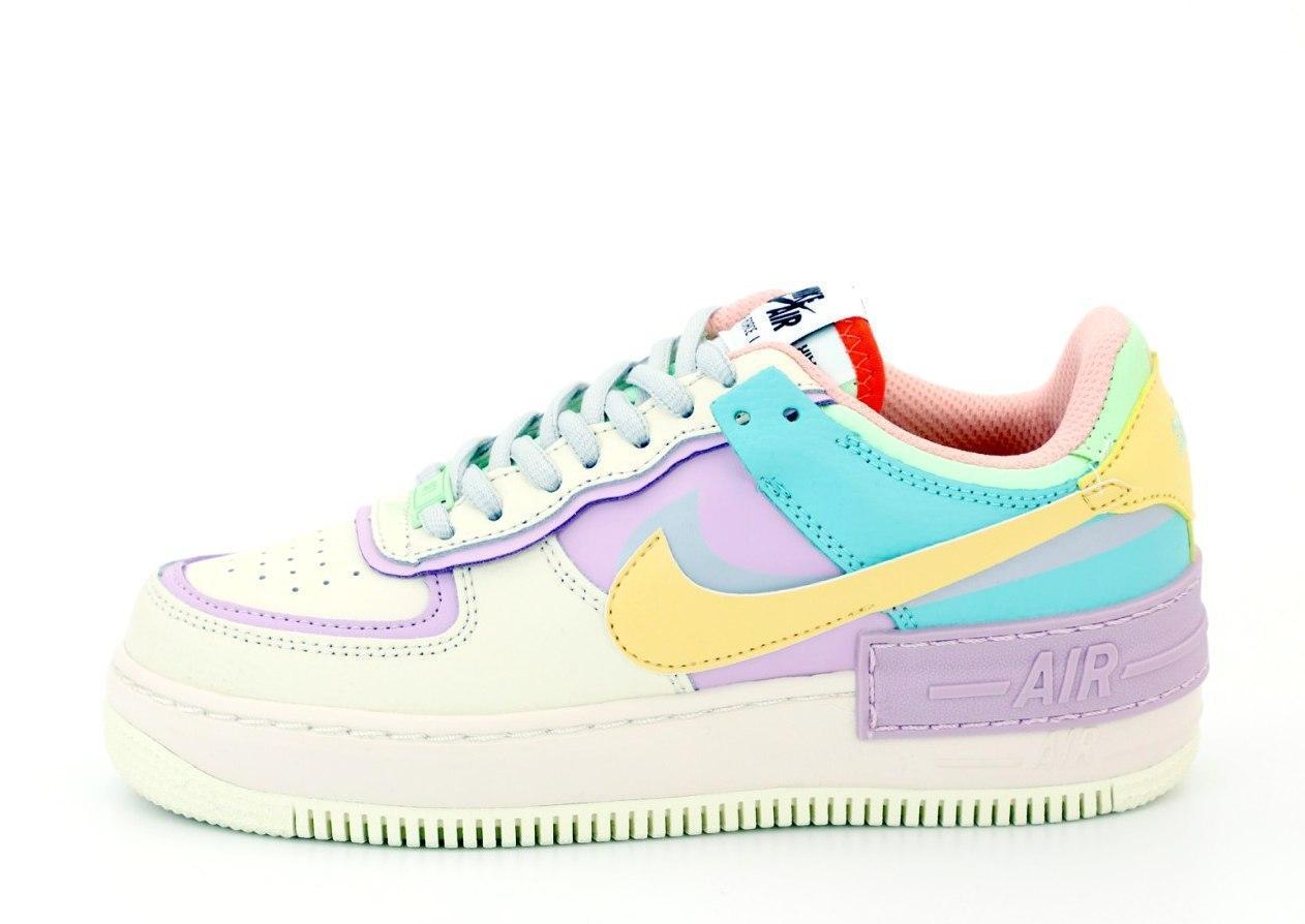Женские кроссовки Nike Air Force 31493 разноцветные