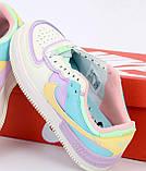 Женские кроссовки Nike Air Force 31493 разноцветные, фото 3