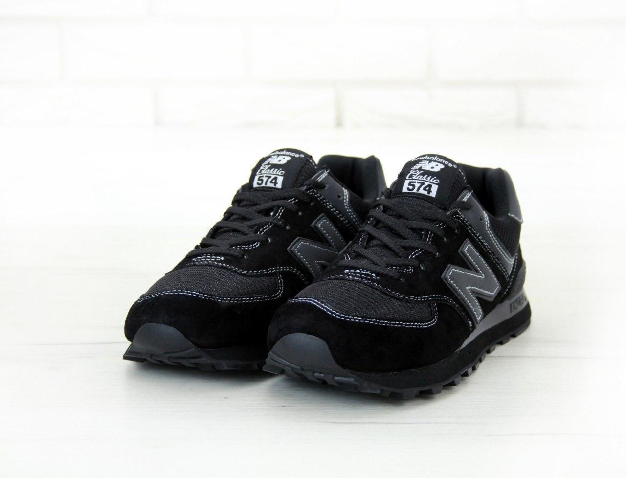 Кроссовки мужские New Balance 574 31420 черные