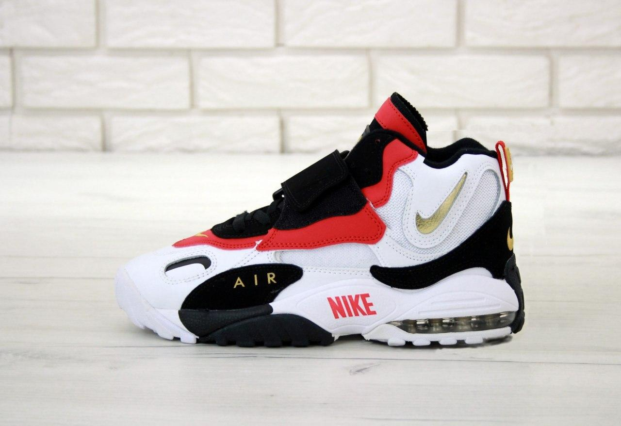 Кроссовки мужские Nike Air Max Speed Turf 31428 черно-красные