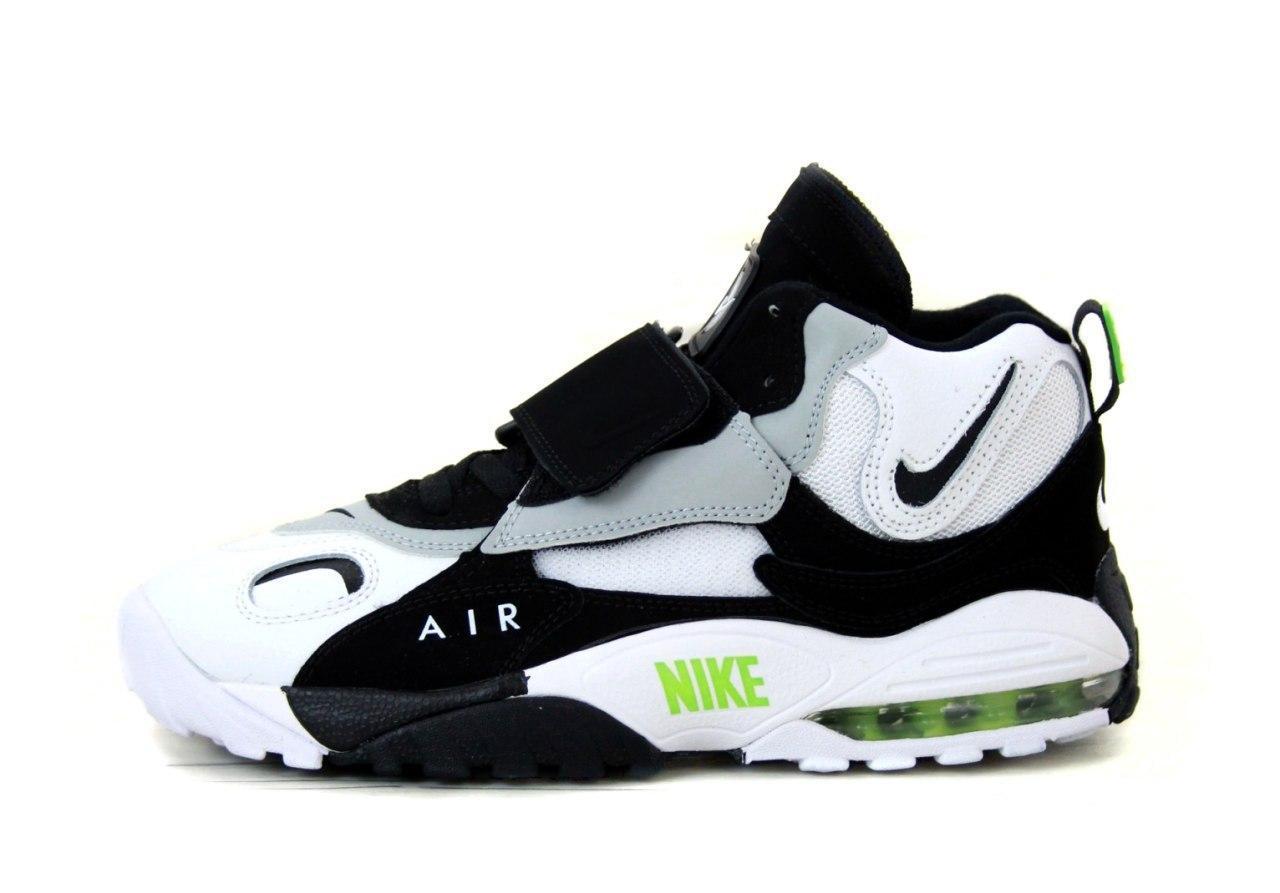 Кроссовки мужские Nike Air Max Speed Turf 31429 бело-черные