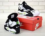 Кроссовки мужские Nike Air Max Speed Turf 31429 бело-черные, фото 7