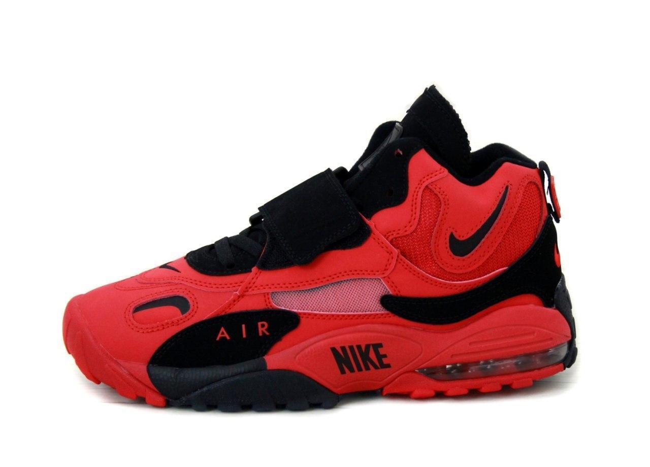 Кроссовки мужские Nike Air Max Speed Turf 31431 красно-черные