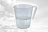 Кружка мерная пластиковая  (код 01455)
