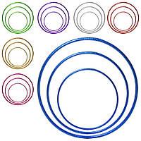 Спортивний обруч (хулахуп) для художньої гімнастики (гімнастичний, схуднення) 50см OSPORT (MS 2768)