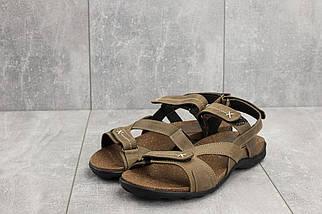 Босоножки StepWey 1072 (лето, мужские, натуральная кожа, оливковый), фото 2