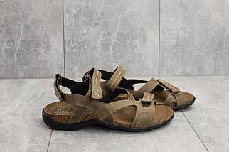 Босоножки StepWey 1072 (лето, мужские, натуральная кожа, оливковый), фото 3