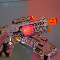 Дитячий іграшковий, пістолет світиться, фото 2